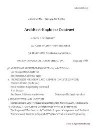 Interior Design Contract Sample Example Interior Designer Contract
