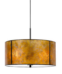 amber mica pendant light stocked in 18 width custom sizes and designs are