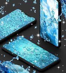 Water drops live wallpaper für Android ...