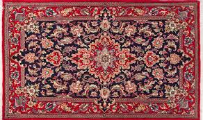 persian rug is antique style but still fashionable interior design with red persian rug