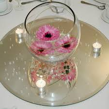 clear mirror base for centerpieces round square 1 of 5 see more