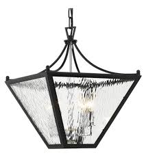 crystorama par 694 mk ch park hill 4 light 16 inch matte black and polished chrome lantern