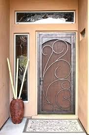 screen door menards larson retractable garage replacement