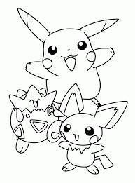 Pokemon Coloring ポケモン ポケモン色ぬり子供イラスト