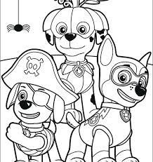 Coloring Pages Of Paw Patrol Winsome Free Printable Paw Patrol