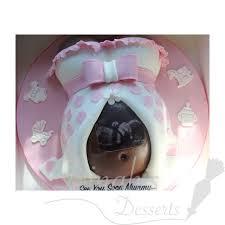 Baby Bump Scan themed Cake Dinah s Desserts Dinah s Desserts