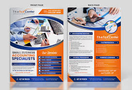 Tax Flyer Design Colorful Bold Accounting Flyer Design For A Company By Sd