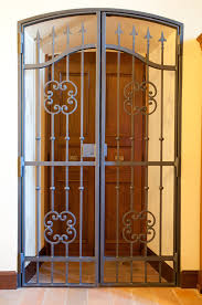 wrought iron exterior doors. Wrought Iron Front Doors For Security Exterior F