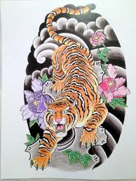 japanese tiger tattoo drawing. Exellent Drawing Japanese Tiger By Robert Hutchinson Via Behance Tiger Tattoo Tattoo  Style For Drawing