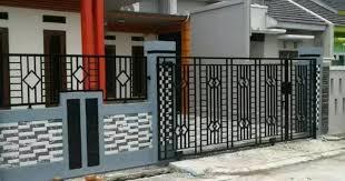 Model pagar besi minimalis terbaru 2021, pagar rumah mewah minimalis modern 2021, model pagar tembok minimalis 2021. Model Pagar Besi Ulir Minimalis