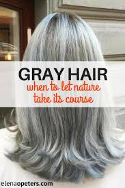Grey Hair When Is It Time