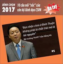 Image result for Trần Hồng Hà: Bùn nhận chìm ở Bình Thuận không phải là chất thải mà là tài nguyên