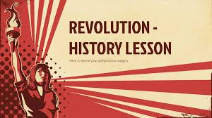 Powerpoint History Revolution History Lesson Google Slides Theme And