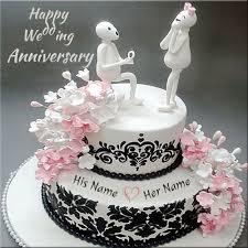 Happy Anniversary Cake Wi Happy Anniversary Cakes Wedding