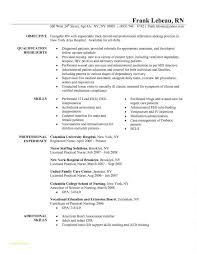 Resume For Nurses Template Or Fresh Job Objective For Resume Job