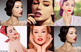pin up makeup looks tips and tutorials