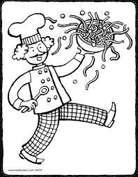 Kleurplaat Jules Koken Jules Food Themes Restaurant En Idee
