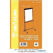 Flip Chart Pad Hk Flipchart Pad With 6 Holes A1