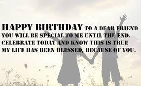 Birthday Quotes For Best Friend Unique Happy Birthday Wishes For A Special Friend [48 Wishes]
