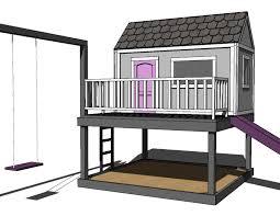 playhouse plans ana white princess castle playhouse plans cedar spray woodlore you shoud know