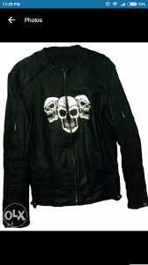 handmade genuine leather jacket