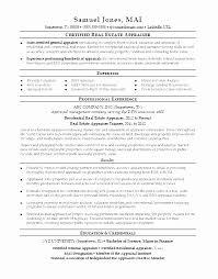 Real Estate Appraiser Resume Impressive Real Estate Appraiser Resume College Graduate Resume Example