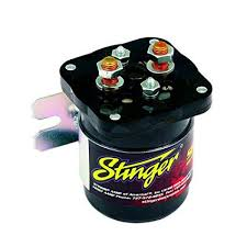 amazon com stinger sgp32 200 amp battery relay isolator and relay pac 200 battery isolator wiring diagram at Stinger Sgp32 Wiring Diagram