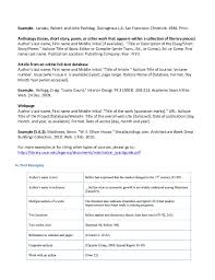 Resume CV Cover Letter    mla style most common essay  make my     MLA  th Edition Paper Formatting