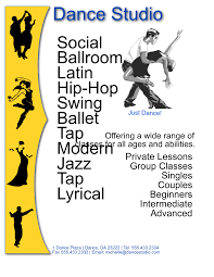 free dance flyer templates dance studio flyer template for inkscape free download edit and