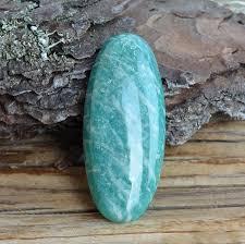 <b>Амазонит</b> натуральный, <b>кабошон 46Х20 мм</b>, АРТ:6-1301 – купить ...