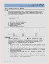 Resume Objective Administrative Assistant Examples Resume Objective Outline Elegant Examples Administrative assistant 23
