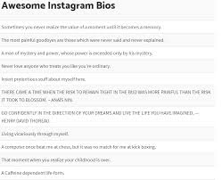 Best Instagram Bio Quotes Best List Of Funny Instagram Bios Status Ideas WHITEDUST