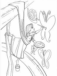 Small Picture Tangled Coloring Pages Free Coloring Pages For Kids