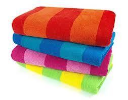 Beach towels Personalized Image Unavailable Amazoncom Amazoncom Kaufman Sales Pc Pack Stripe Beach Towel By Ben
