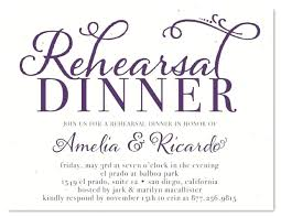 Free Wedding Rehearsal Invitations Templates Example For Dinner