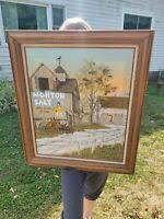 Charlotte Augusta Morton 1885-1974 Landscape Oil Painting Palm Springs CA.  1941 | eBay
