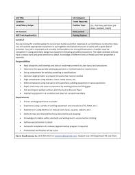 47 job description templates examples template lab job description template 23