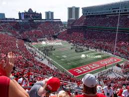 Ohio St Football Stadium Seating Chart Ohio State Buckeyes Football Seating Chart Map Seatgeek