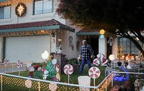 Candy Cane Yard Decorations Candy Cane Lollipop lanes taking shape 81