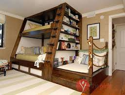 bunk bed with stairs for girls. Bed With Stairs Girls Triple Bunk Beds Home Design Ideas For O