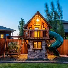 the most incredible outdoor playhouses for kids you ll see today discover the season s