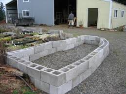 Small Picture 22 best DIY Concrete Block Gardens images on Pinterest