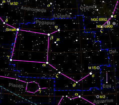 Pegasus Star Chart Pegasus Constellation Pegasus_constellation_map Pegasus