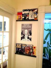 comic book cabinet my display storage vintage with shelves ideas dc wall pertaining to idea
