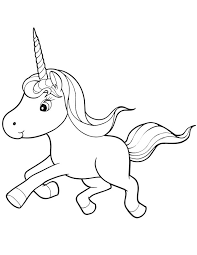 Small Picture Baby Unicorn Coloring Pages Free Coloring Pages