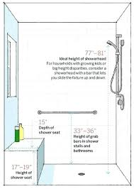 shower bench dimensions shower stall measurements room by room measurement guide for remodeling projects corner shower shower bench dimensions