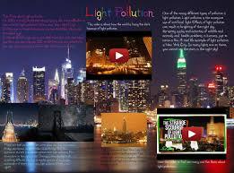 Causes Of Light Pollution Light Pollution City En Environment Light Night