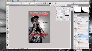Photoshop Tutorial How To Make A Magazine Cover Youtube