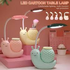 Đèn Bàn Học Hình Con Ốc Sên Led Bảo Vệ Mắt ( BẢO HÀNH 1 NĂM ) ( Big Mouse  Shop ) - Đèn bàn