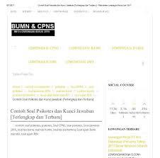 Download soal uas ipa kelas 7 8 9 kurikulum 2006 2013. Soal Tes Cpns Sipir Pdf Jawabanku Id